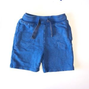 NEXT/ EST. 82 SIZE 4-5 BLUE COTTON SHORTS WITH POC